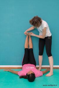 Lavoro posturale sul piede