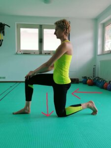 Stretching Psoas