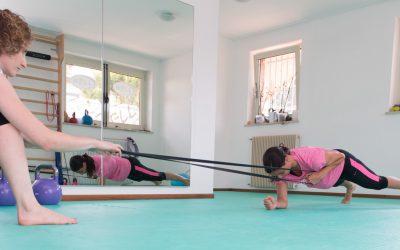 Allenamento funzionale con gli elastici
