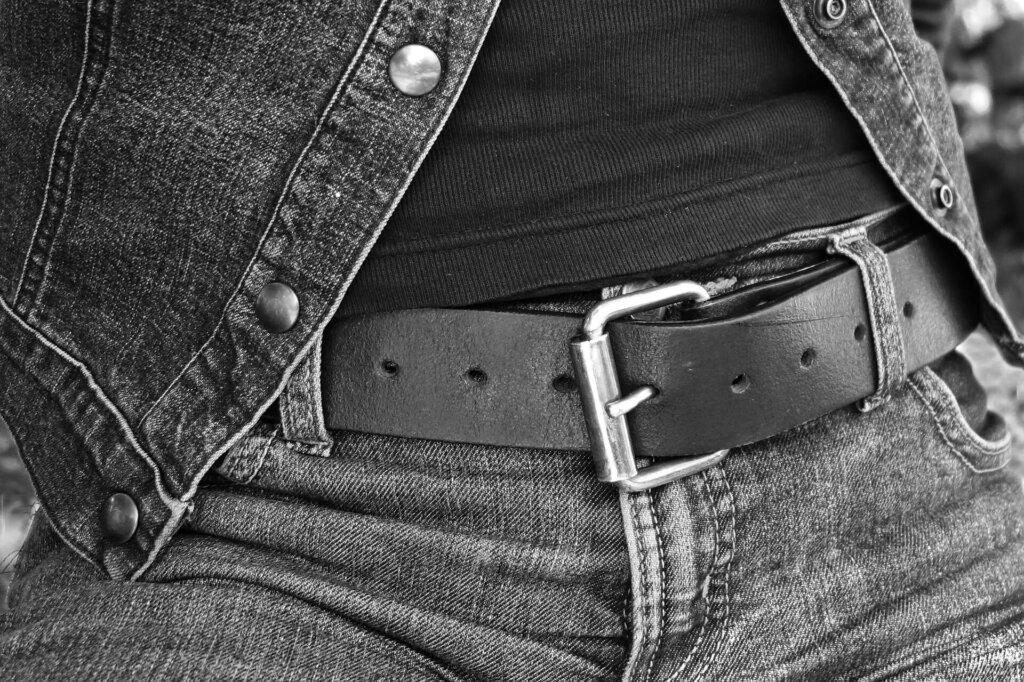 jeans stretti
